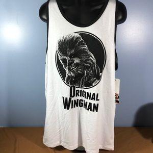 Star Wars Original Wingman Chewbacca Tank Top